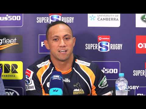 Super Rugby 2019 Round Five: Brumbies press conference