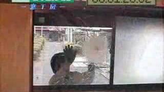 防犯ガラス破壊試験セキュオ60