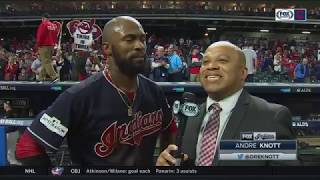 Austin Jackson after Indians' 13-inning, walk-off win over Yankees | 2017 ALDS GAME 2