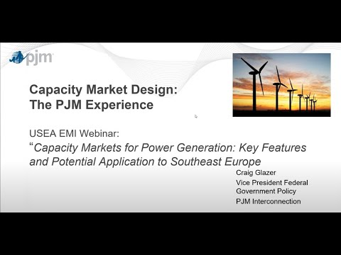 Electricity Capacity Markets: Comparing Costs and Benefits (webinar)