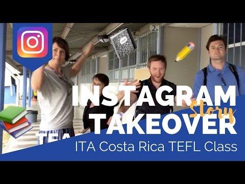 Costa Rica TEFL Class #2 - Teaching English Abroad Social Takeover