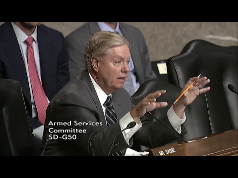 Graham Questions NSA Director Admiral Rogers on U.S. Cyber Threats