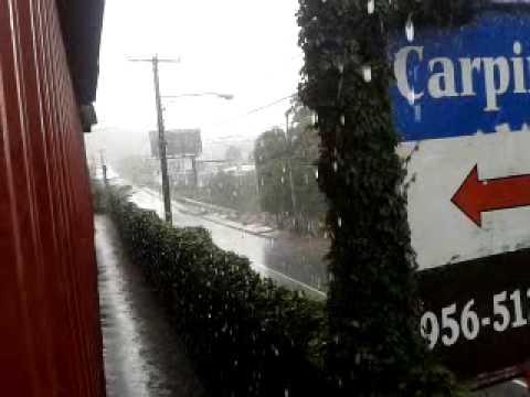 It rains heavily in Managua ǀ LOLOMORALES®