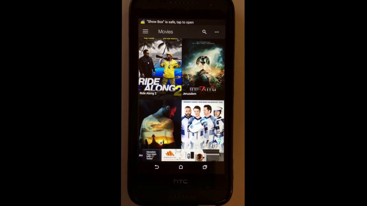 how to get showbox on android
