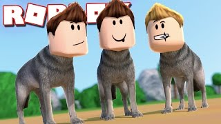 Roblox Adventure - TRANSFORMING INTO WOLVES IN ROBLOX! (Wolf Roleplay)