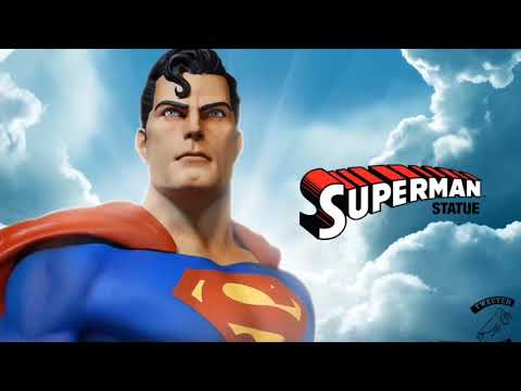 Preview of Superman from Tweeterhead's Super Powers Collection