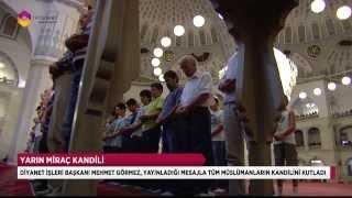 Miraç, insanın erdem yolculuğudur - TRT DİYANET 2017 Video