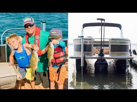 Convert Your Pontoon Into A Fishing Machine