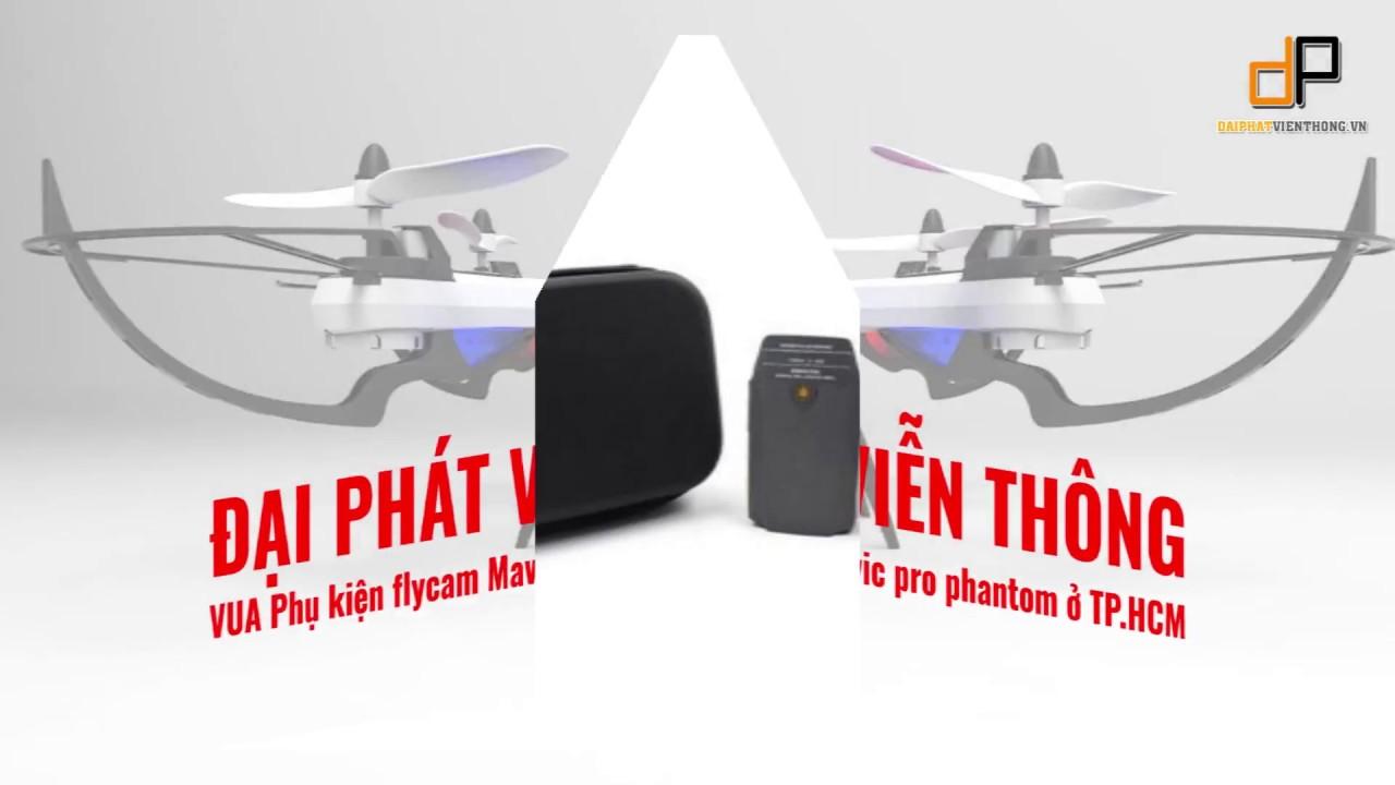 Phụ kiện flycam balo túi đựng bảo vệ cánh mavic pro phantom giá rẻ ở  tphcm?