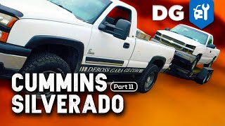 $1000 Chummins Body Swap at the Border | #CumminsSilverado [EP11]