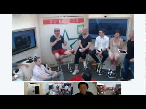 Hangout On Air - Mobile Creativity at Cannes Lions 2012