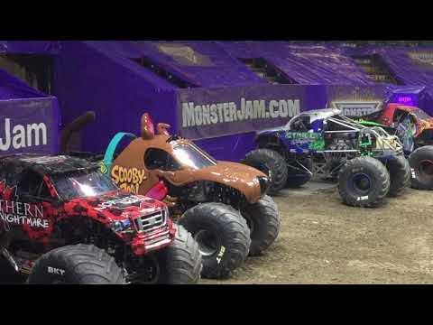 Monster Jam Albany, NY 2018 Saturday Afternoon: Freestyle Competition & Outro