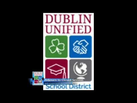 Dublin Unified School District Board Meeting - 25 April 2017