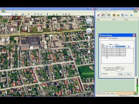 Gopass.dk Demo af PTZ112 & PTZ113 Gps tracker History Replay