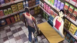 GTA 5 - Supermarket Robbery. Cardboard game. DIY