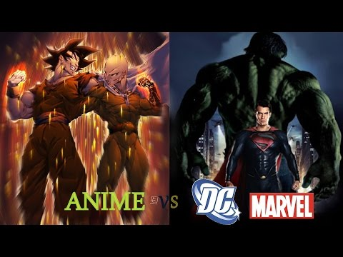 Anime vs DC & Marval