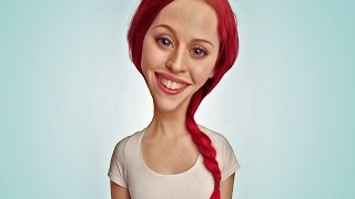 Photoshop Tutorial   How to Make Caricature Photo Effect