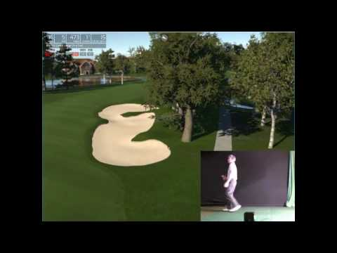Arnold Palmer Invitational on The Golf Club Simulator played with SkyTrak Launch Monitor