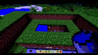 minecraft механический огород