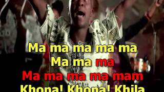 MAFIKIZOLO ft UHURU   KHONA KARAOKE VERSION)