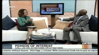 Person of Interest with Dr.  Mohamed Swazuri, Chairman of National Lands Commission