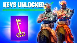 FORTNITE LIVE THE 2 EME CLE IS SORTIE? New SKIN SECRET?