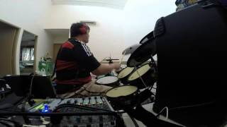 Aida Nikolaychuk - Lullaby drum cover