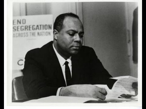 James Farmer speaking at UCLA 10/15/1965
