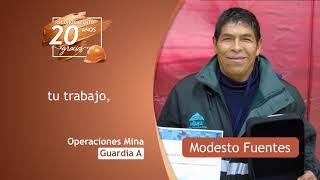 Premiación al equipo de Operaciones Mina Guardia A