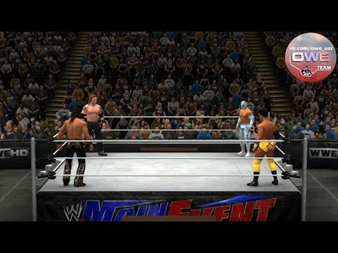WWE 2K14 Heath Slater vs. Sin Cara vs. Darren Young vs. Drew McIntyre Online