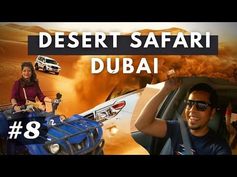 Dubai Desert Safari 🐪 | Dune Bashing and Quad Biking Experience | BBQ dinner in desert camp