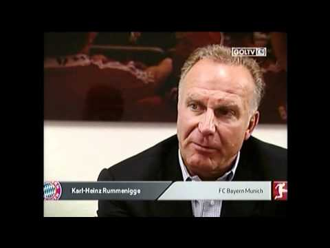 FC Bayern's Franck Ribery interview part 1