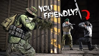 HOSTAGE RESCUE... GONE WRONG!! - DayZ Standalone