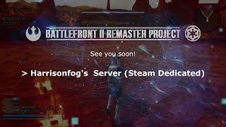 STAR WARS Online Game - Battlefront 2 Remaster Server Trailer