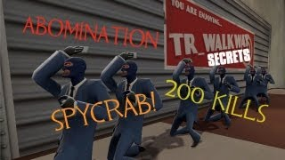 TF2 TR_WALKWAY RC2 SECRETS AND EASTER EGGS