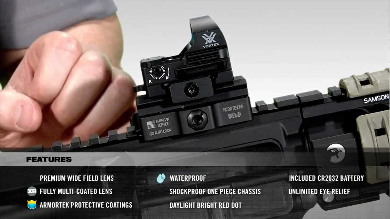 Vortex Razor Red Dot Youtube