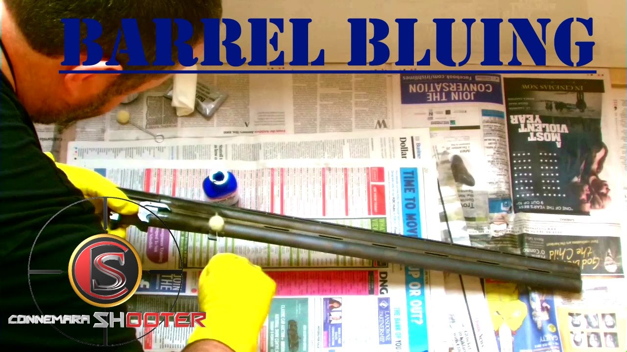 How To Blue A Gun Barrel Bluing Perma Blue Youtube