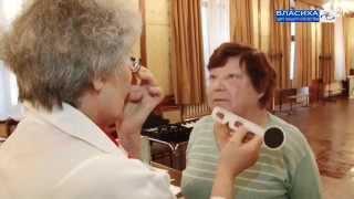 Бесплатная проверка зрения во Власихе(Видео телеканала