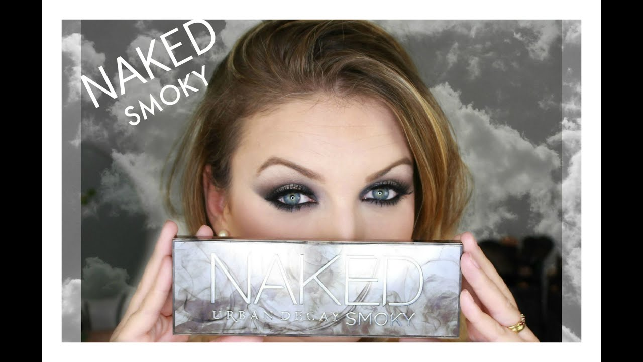 Préférence Tutoriel smoky eyes avec la NAKED SMOKY d'Urban Decay - YouTube ZB59