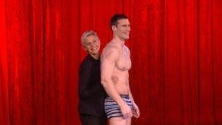 Ellen's Live Underwear Commercial