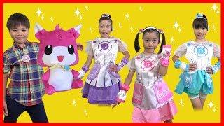 ミラクルちゅーんず おもちゃ いっぱい! ポッド タクト サウンドジュエル 衣装 こうくんねみちゃん MIRACLE TUNES Toy thumbnail