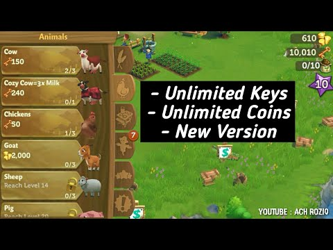 Farmville 2 Country Escape Apk Unlimited Coins And Keys