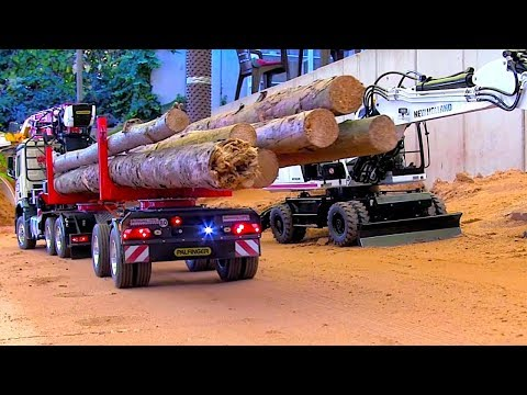 BEST OF 2019 RC Trucks I Heavy Haulage I Heavy Machines I Truck stuck