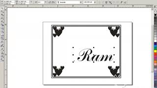 Pamphlet Design __ CorelDraw X3 Tutorial __ Graphics Designing __ Part 2