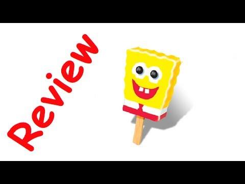 SpongeBob Cotton Candy Ice Cream Review - RudyEats Happy Junk Food Critic