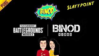 PUBG MOBILE × BINOD -| Binod Song Dance | Binod Trend | Binod Meme | @Slayy Point @REAY