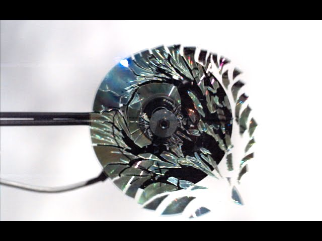 CD Shattering at 170,000FPS! – The Slow Mo Guys