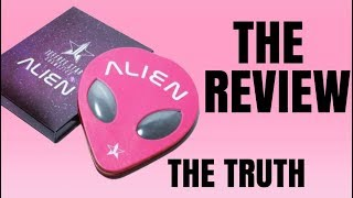 JEFFREE STAR ALIEN PALETTE REVIEW THE TRUTH