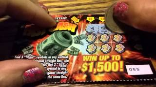 FAST CASH NY LOTTERY TICKET #2