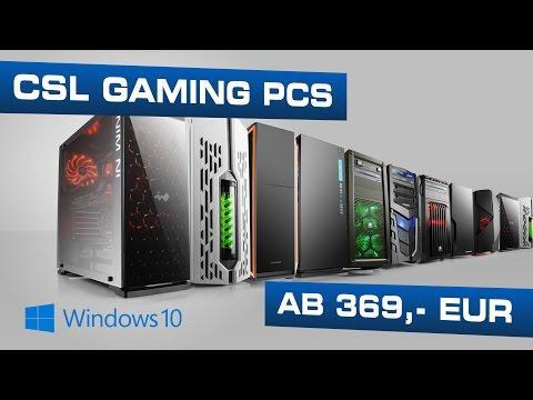 CSL Gaming PCs